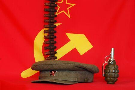 USSR in World War 2.Concept  photo