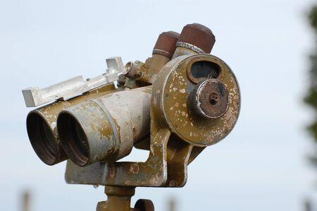geodesist: Range-finder . Old Soviet artillery equipment