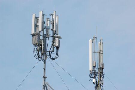 Telecommunication tower Stock Photo - 7810675