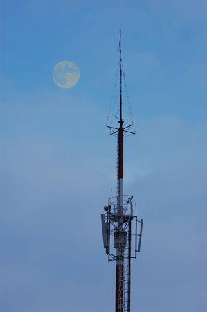 emit: Telecommunication tower