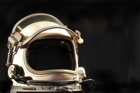 Soviet pilot military helmet  photo