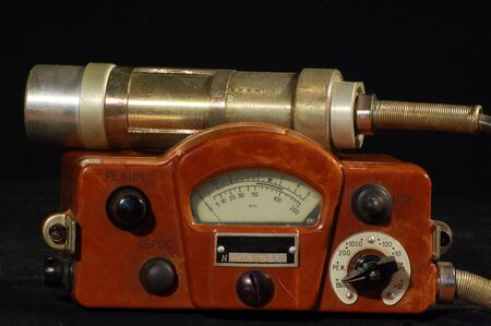 Radiometer.Old Soviet military equipment .Logo removed photo