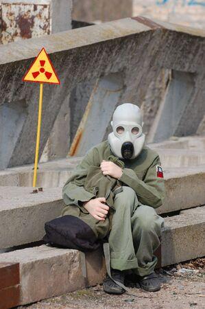 Nuclear tourist Stock Photo - 7811390