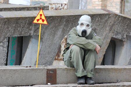 Nuclear tourist  Stock Photo - 7811427