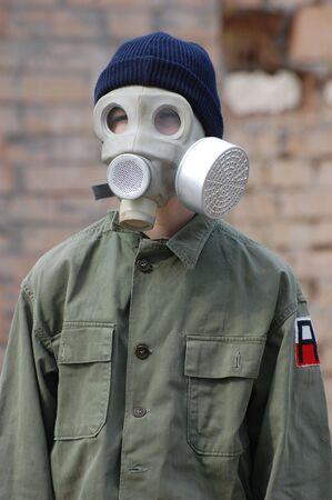 Nuclear tourist Stock Photo - 7811388