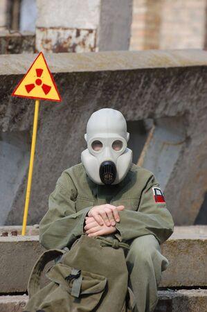 Nuclear tourist  Stock Photo - 7811254