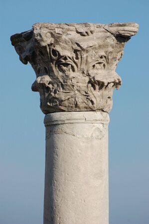 Ruins of ancient Greek colony Khersones.Sevastopol.Crimea  photo
