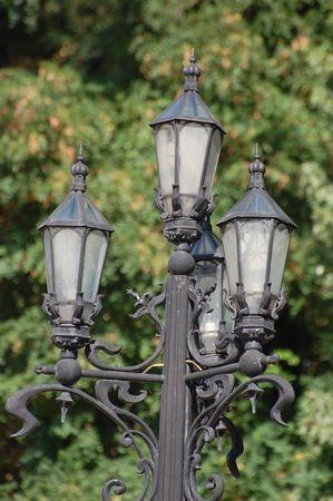 Old lantern.Kiev,Ukraine  photo