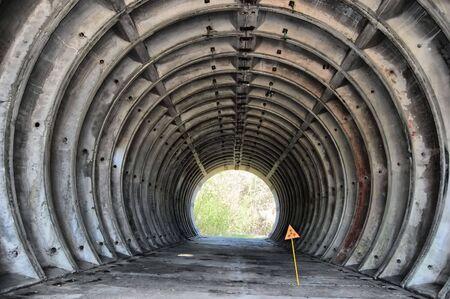 Abandoned bunker.Lost city.Near Chernobyl area.Kiev region,Ukraine Stock Photo - 7812019