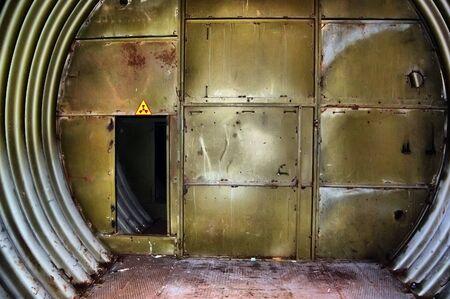 Abandoned bunker.Lost city.Near Chernobyl area.Kiev region,Ukraine  Stock Photo - 7812029