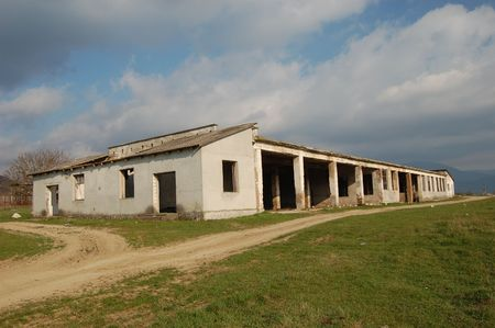 Lost city.Near Chernobyl area.Kiev region,Ukraine  Stock Photo - 7905559