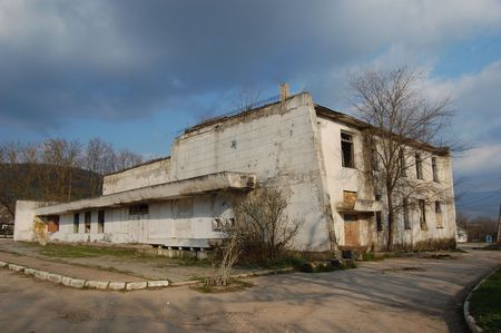 Lost city.Near Chernobyl area.Kiev region,Ukraine  Stock Photo - 7905564