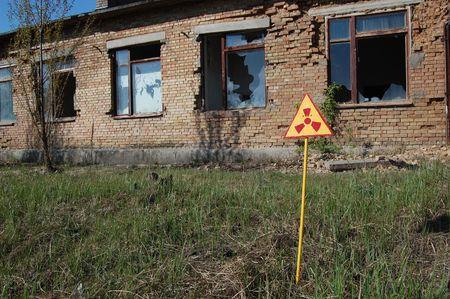 Lost city.Near Chernobyl area.Kiev region,Ukraine Stock Photo - 7906193