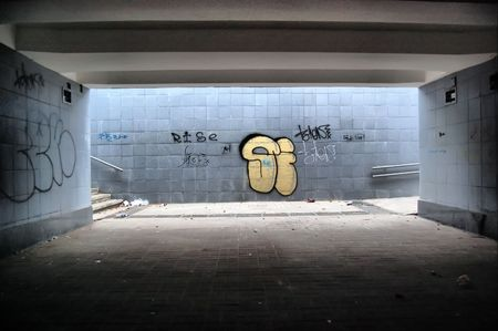 kiev: Subway in European capital. Kiev,Ukraine. Underground pass  Stock Photo