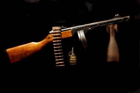 Soviet WW2 weapon of infantry Stock Photo - 7906362