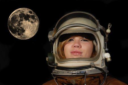 月面の夢 写真素材 - 8007763