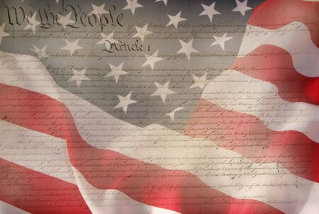 Constitution of USA  photo