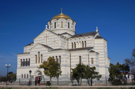 St. Vladimir cathedral. Sevastopol.Crimea (Khersones)  photo