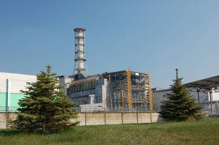 APR. 25,2009 Chernobyl power plant. Ukraine. Kiev region.April 25,2009