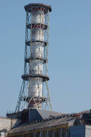 APR. 25,2009 Chernobyl power plant.Ukraine. Kiev region.April 25,2009  Stock Photo - 8410096