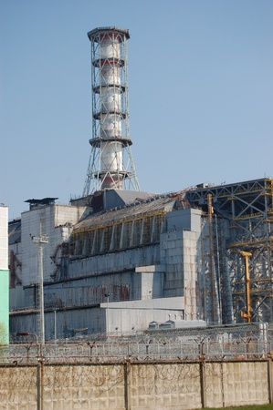 environmentalline: APR. 25,2009 Chernobyl power plant.Ukraine. Kiev region.April 25,2009