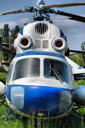 weaponry: KIEV, UKRAINE - MAY 19: The Museum of Aviation exhibit at the National Airspace University is shown on May 19, 2009 in Kiev,Ukraine (Malorussia).