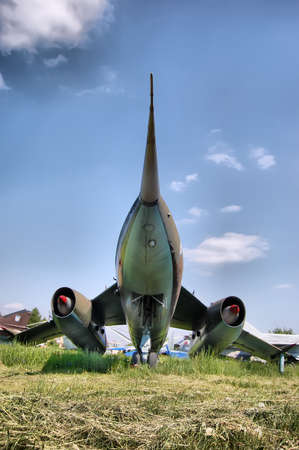 KIEV, UKRAINE - MAY 19: The Museum of Aviation exhibit at the National Airspace University is shown on May 19, 2009 in Kiev,Ukraine (Malorussia).