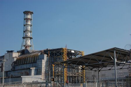 APR. 25,2009 Chernobyl power plant. Ukraine. Kiev region.April 25,2009