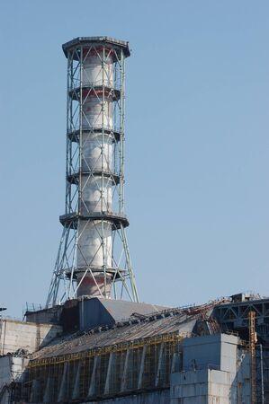 APR. 25,2009 Chernobyl power plant. Ukraine. Kiev region.April 25,2009    Stock Photo - 8491672