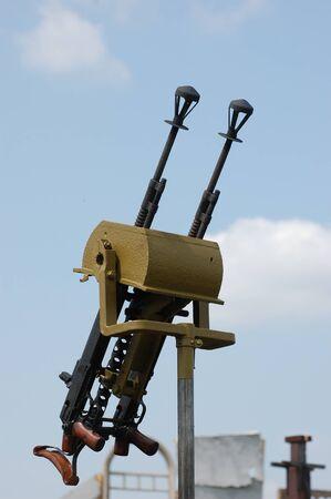 machine-gun: Soviet anti aviation machine-gun of WW2 time