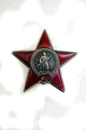 orden: Soviet military award. Red Star Orden