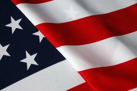 US-Flagge  Lizenzfreie Bilder