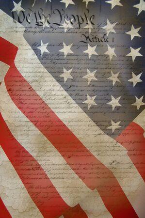 constitution: US CONSTITUTION Stock Photo