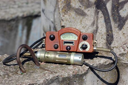 Military radiometer.Soviet .Logo removed Stock Photo - 9301058