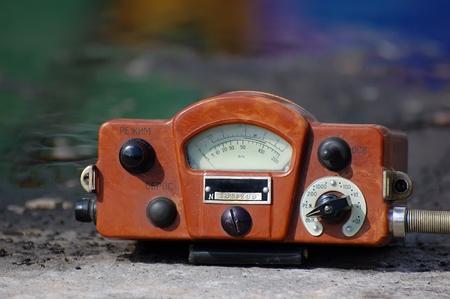 Military radiometer. Stock Photo - 9301054