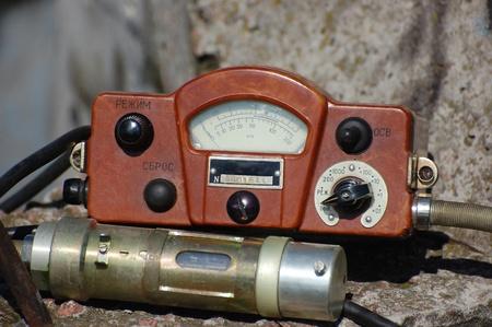 Military radiometer. Logo removed. Stock Photo - 9370205