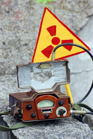 Military radiometer. Logo removed. Stock Photo - 9370204