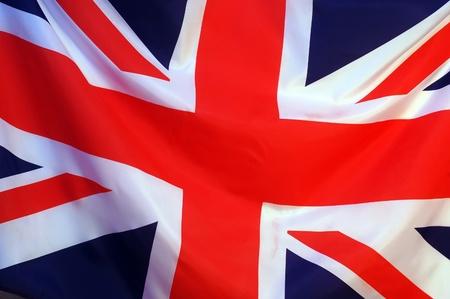 bandera reino unido: Bandera brit�nica  Foto de archivo
