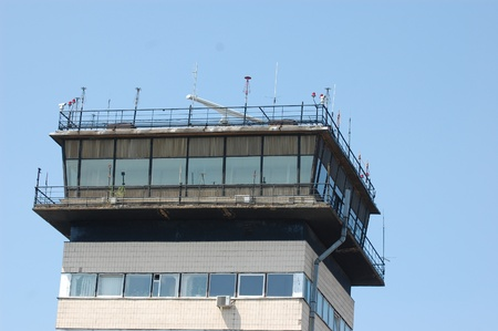 KIEV,UKRAINE - MAY 21: Air Traffic Control tower on May 21, 2011 at Borispol Airport, Kiev,Ukraine.