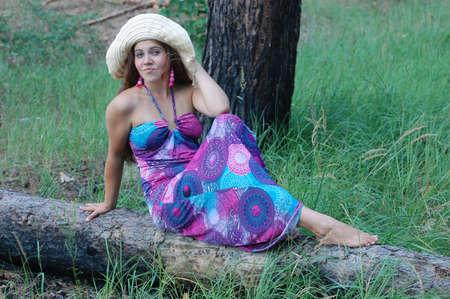 ttractive: Girl in the forest.Near Kiev,Ukraine