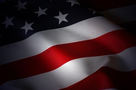 banderas america: EE.UU. Bandera Foto de archivo
