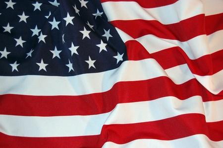 flag: Amerikaanse vlag Stockfoto
