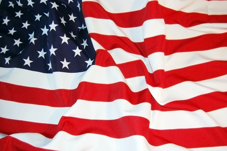 american flag waving: US Flag
