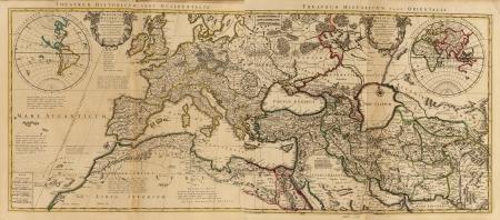 Antique Map Фото со стока
