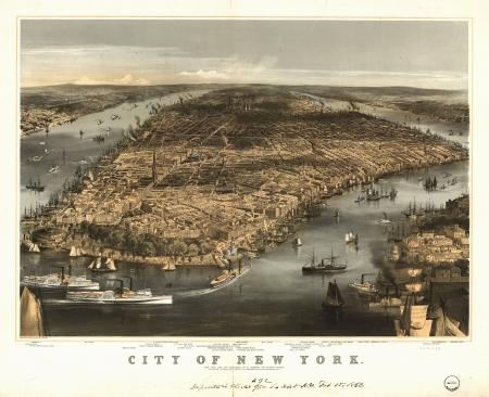 Nueva York 1856 photo