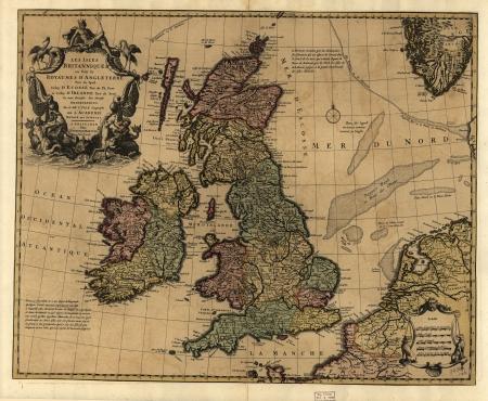 Britische Inseln Lizenzfreie Bilder