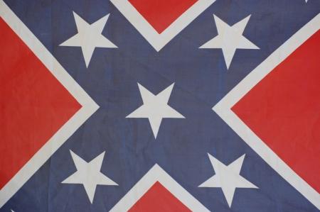 United States Confederate Flag  photo