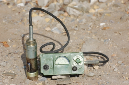 Old Soviet military radiometer ДП-5в (DP-5v) Logo removed Stock Photo - 14444086
