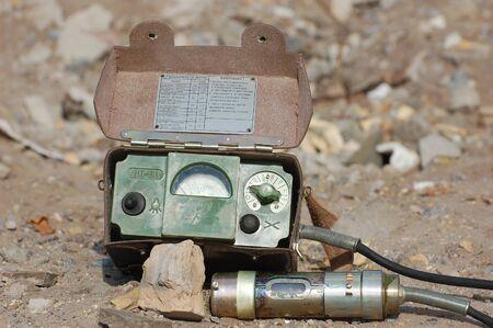 Old Soviet military radiometer ДП-5в (DP-5v) Logo removed Stock Photo - 14444090