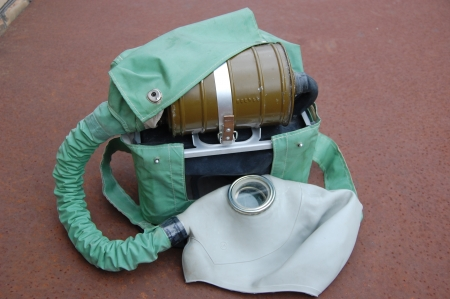 Old Soviet military Rebreather photo